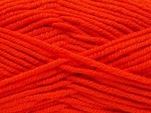 Fiber Content 70% Acrylic, 30% Wool, Orange, Brand Ice Yarns, Yarn Thickness 5 Bulky  Chunky, Craft, Rug, fnt2-65722