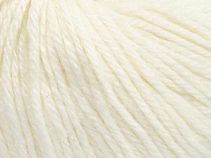 Fiber Content 40% Acrylic, 40% Merino Wool, 20% Polyamide, White, Brand Ice Yarns, Yarn Thickness 3 Light  DK, Light, Worsted, fnt2-65726