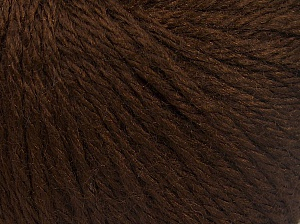 Fiber Content 40% Acrylic, 40% Merino Wool, 20% Polyamide, Brand Ice Yarns, Dark Brown, Yarn Thickness 3 Light  DK, Light, Worsted, fnt2-65728