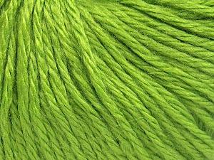 Fiber Content 40% Merino Wool, 40% Acrylic, 20% Polyamide, Light Green, Brand Ice Yarns, Yarn Thickness 3 Light  DK, Light, Worsted, fnt2-65732