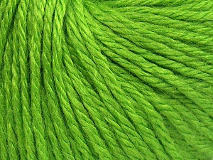 Fiber Content 40% Merino Wool, 40% Acrylic, 20% Polyamide, Brand Ice Yarns, Green, Yarn Thickness 3 Light  DK, Light, Worsted, fnt2-65733