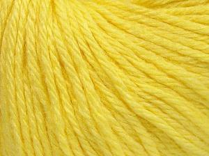 Fiber Content 40% Merino Wool, 40% Acrylic, 20% Polyamide, Light Yellow, Brand Ice Yarns, Yarn Thickness 3 Light  DK, Light, Worsted, fnt2-65735