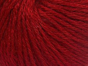 Fiber Content 40% Acrylic, 40% Merino Wool, 20% Polyamide, Brand Ice Yarns, Dark Red, Yarn Thickness 3 Light  DK, Light, Worsted, fnt2-65738