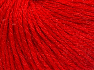 Fiber Content 40% Merino Wool, 40% Acrylic, 20% Polyamide, Red, Brand Ice Yarns, Yarn Thickness 3 Light  DK, Light, Worsted, fnt2-65739