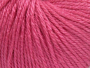 Fiber Content 40% Merino Wool, 40% Acrylic, 20% Polyamide, Brand Ice Yarns, Candy Pink, Yarn Thickness 3 Light  DK, Light, Worsted, fnt2-65743