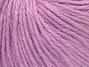 Fiber Content 40% Merino Wool, 40% Acrylic, 20% Polyamide, Light Lilac, Brand Ice Yarns, Yarn Thickness 3 Light  DK, Light, Worsted, fnt2-65744