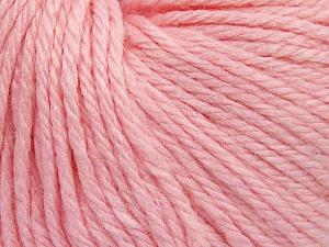 Fiber Content 40% Merino Wool, 40% Acrylic, 20% Polyamide, Light Pink, Brand Ice Yarns, Yarn Thickness 3 Light  DK, Light, Worsted, fnt2-65745