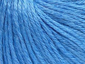 Fiber Content 40% Merino Wool, 40% Acrylic, 20% Polyamide, Light Blue, Brand Ice Yarns, Yarn Thickness 3 Light  DK, Light, Worsted, fnt2-65747