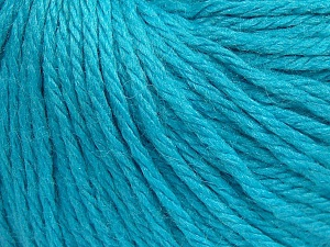Fiber Content 40% Merino Wool, 40% Acrylic, 20% Polyamide, Turquoise, Brand Ice Yarns, Yarn Thickness 3 Light  DK, Light, Worsted, fnt2-65749