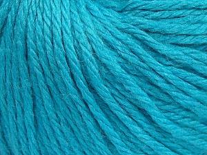Fiber Content 40% Merino Wool, 40% Acrylic, 20% Polyamide, Turquoise, Brand Ice Yarns, Yarn Thickness 3 Light DK, Light, Worsted, fnt2-65749