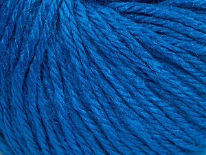 Fiber Content 40% Merino Wool, 40% Acrylic, 20% Polyamide, Brand Ice Yarns, Blue, Yarn Thickness 3 Light  DK, Light, Worsted, fnt2-65751
