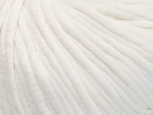 Fiber Content 67% Cotton, 33% Polyamide, White, Brand Ice Yarns, fnt2-65765