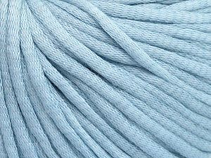 Fiber Content 67% Cotton, 33% Polyamide, Brand Ice Yarns, Baby Blue, Yarn Thickness 4 Medium  Worsted, Afghan, Aran, fnt2-65773