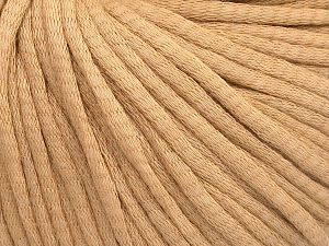 Fiber Content 67% Cotton, 33% Polyamide, Milky Brown, Brand Ice Yarns, Yarn Thickness 4 Medium  Worsted, Afghan, Aran, fnt2-65774