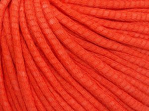 Fiber Content 67% Cotton, 33% Polyamide, Brand Ice Yarns, Dark Orange, Yarn Thickness 4 Medium  Worsted, Afghan, Aran, fnt2-65777