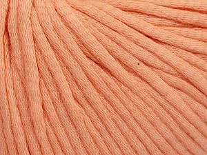 Fiber Content 67% Cotton, 33% Polyamide, Light Salmon, Brand Ice Yarns, Yarn Thickness 4 Medium  Worsted, Afghan, Aran, fnt2-65778