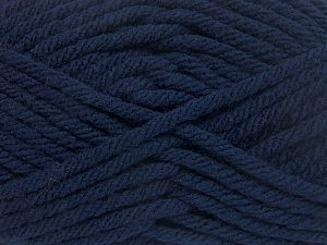 Fiber Content 100% Acrylic, Navy, Brand Ice Yarns, Yarn Thickness 6 SuperBulky  Bulky, Roving, fnt2-65833