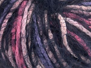 Fiber Content 60% Acrylic, 40% Polyamide, Pink, Navy, Lilac, Brand Ice Yarns, Yarn Thickness 5 Bulky  Chunky, Craft, Rug, fnt2-65887