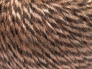 Fiber Content 70% Polyamide, 19% Merino Wool, 11% Acrylic, Light Salmon, Brand Ice Yarns, Brown, Yarn Thickness 4 Medium  Worsted, Afghan, Aran, fnt2-65896