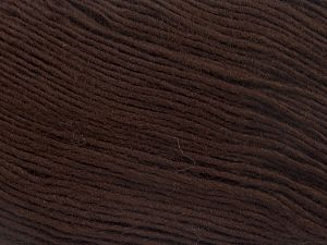 Fiber Content 100% Premium Acrylic, Brand Ice Yarns, Dark Brown, Yarn Thickness 3 Light  DK, Light, Worsted, fnt2-65904