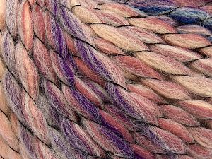 Fiber Content 70% Premium Acrylic, 15% Wool, 15% Alpaca, Purple, Pink Shades, Brand Ice Yarns, Blue, Beige, Yarn Thickness 6 SuperBulky  Bulky, Roving, fnt2-65912