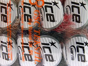 Fiber Content 100% Polyamide, Mixed Lot, Brand Ice Yarns, Yarn Thickness 4 Medium  Worsted, Afghan, Aran, fnt2-65928
