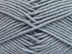 Fiber Content 50% Merino Wool, 50% Acrylic, Light Indigo Blue, Brand Ice Yarns, Yarn Thickness 5 Bulky  Chunky, Craft, Rug, fnt2-65952