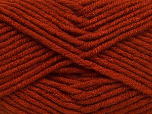 Fiber Content 50% Merino Wool, 50% Acrylic, Brand Ice Yarns, Copper, Yarn Thickness 5 Bulky  Chunky, Craft, Rug, fnt2-65961