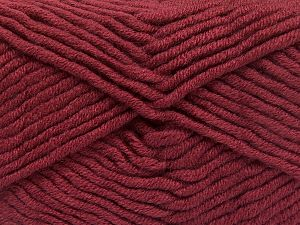 Fiber Content 50% Merino Wool, 50% Acrylic, Light Burgundy, Brand Ice Yarns, Yarn Thickness 5 Bulky  Chunky, Craft, Rug, fnt2-65963