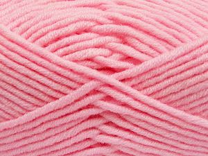 Fiber Content 50% Merino Wool, 50% Acrylic, Light Pink, Brand Ice Yarns, Yarn Thickness 5 Bulky  Chunky, Craft, Rug, fnt2-65968