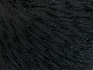 Fiber Content 70% Mercerised Cotton, 30% Viscose, Brand Ice Yarns, Black, Yarn Thickness 2 Fine  Sport, Baby, fnt2-65981