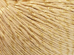 Fiber Content 70% Mercerised Cotton, 30% Viscose, Brand Ice Yarns, Dark Cream, Yarn Thickness 2 Fine  Sport, Baby, fnt2-65987