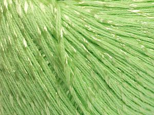Fiber Content 70% Mercerised Cotton, 30% Viscose, Light Green, Brand Ice Yarns, Yarn Thickness 2 Fine  Sport, Baby, fnt2-65988