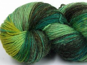 Please note that this is a hand-dyed yarn. Colors in different lots may vary because of the charateristics of the yarn. Also see the package photos for the colorway in full; as skein photos may not show all colors. Fiber Content 75% Super Wash Wool, 25% Polyamide, Khaki, Brand Ice Yarns, Green Shades, Yarn Thickness 1 SuperFine  Sock, Fingering, Baby, fnt2-66020