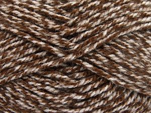 Bulky  Fiber Content 100% Acrylic, Brand Ice Yarns, Brown Shades, Yarn Thickness 5 Bulky  Chunky, Craft, Rug, fnt2-66046