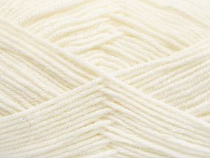 Fiber Content 60% Merino Wool, 40% Acrylic, White, Brand Ice Yarns, Yarn Thickness 3 Light  DK, Light, Worsted, fnt2-66073