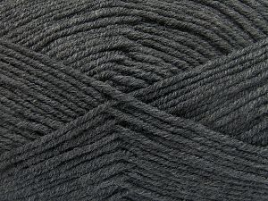Fiber Content 60% Merino Wool, 40% Acrylic, Brand Ice Yarns, Dark Grey, Yarn Thickness 3 Light  DK, Light, Worsted, fnt2-66080