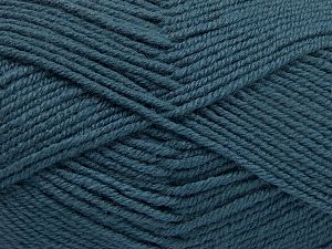 Fiber Content 60% Merino Wool, 40% Acrylic, Indigo Blue, Brand Ice Yarns, Yarn Thickness 3 Light  DK, Light, Worsted, fnt2-66082