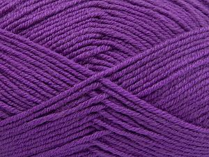 Fiber Content 60% Merino Wool, 40% Acrylic, Lilac, Brand Ice Yarns, Yarn Thickness 3 Light  DK, Light, Worsted, fnt2-66085