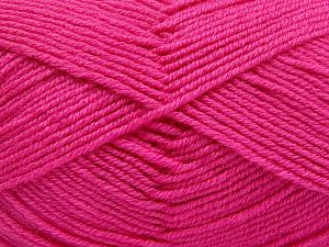 Fiber Content 60% Merino Wool, 40% Acrylic, Brand Ice Yarns, Candy Pink, Yarn Thickness 3 Light  DK, Light, Worsted, fnt2-66090