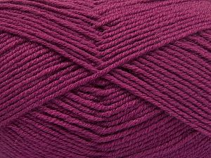 Fiber Content 60% Merino Wool, 40% Acrylic, Brand Ice Yarns, Dark Orchid, Yarn Thickness 3 Light  DK, Light, Worsted, fnt2-66093