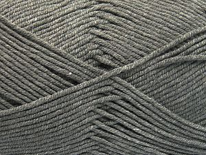 Fiber Content 50% Cotton, 50% Acrylic, Light Grey, Brand Ice Yarns, Yarn Thickness 2 Fine  Sport, Baby, fnt2-66098