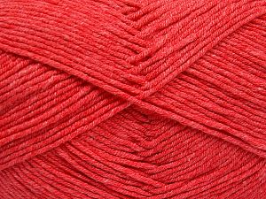 Fiber Content 50% Acrylic, 50% Cotton, Light Salmon, Brand Ice Yarns, Yarn Thickness 2 Fine  Sport, Baby, fnt2-66109