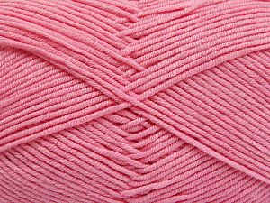 Fiber Content 50% Cotton, 50% Acrylic, Brand Ice Yarns, Baby Pink, Yarn Thickness 2 Fine  Sport, Baby, fnt2-66121