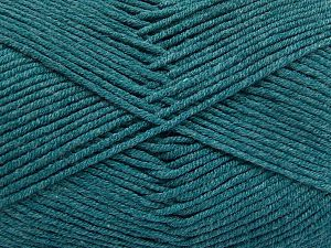 Fiber Content 50% Acrylic, 50% Cotton, Turquoise, Brand Ice Yarns, Yarn Thickness 2 Fine  Sport, Baby, fnt2-66126