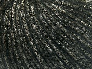 Fiber Content 67% Tencel, 33% Polyamide, Brand Ice Yarns, Black, Yarn Thickness 4 Medium  Worsted, Afghan, Aran, fnt2-66187