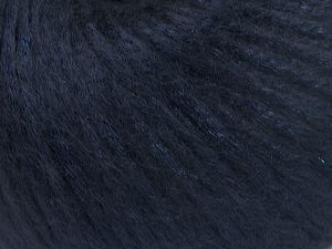 Fiber Content 67% Tencel, 33% Polyamide, Navy, Brand Ice Yarns, Yarn Thickness 4 Medium  Worsted, Afghan, Aran, fnt2-66193