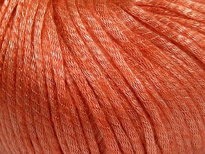 Fiber Content 67% Tencel, 33% Polyamide, Salmon, Brand Ice Yarns, Yarn Thickness 4 Medium  Worsted, Afghan, Aran, fnt2-66197
