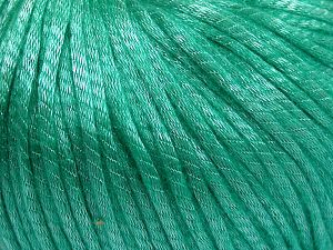 Fiber Content 67% Tencel, 33% Polyamide, Brand Ice Yarns, Green, Yarn Thickness 4 Medium  Worsted, Afghan, Aran, fnt2-66202