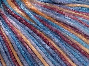 Tencel (Lyocell) is a form of rayon that consists of cellulose fiber made from beech and eucalyptus trees. Main characteristics of lyocell fibers are that they are sustainable, soft, absorbent, very strong when wet or dry, and resistant to wrinkles. Fiber Content 67% Tencel, 33% Polyamide, Light Lilac, Light Blue, Brand Ice Yarns, Gold, Burgundy, Yarn Thickness 4 Medium  Worsted, Afghan, Aran, fnt2-66218